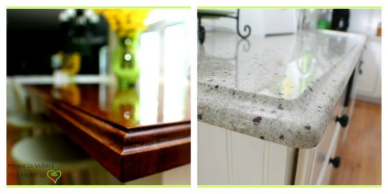 Both The Granite Counters Kashmir White And The Wood