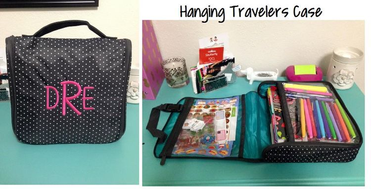 for transporting your planner and supplies the thirty one hanging