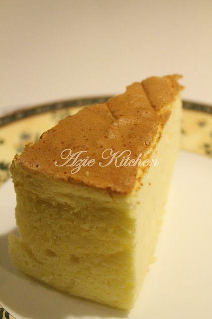 Azie Kitchen Cotton Soft Japanese Cheesecake Japanese Cheesecake Cheesecake Cotton Cheesecake