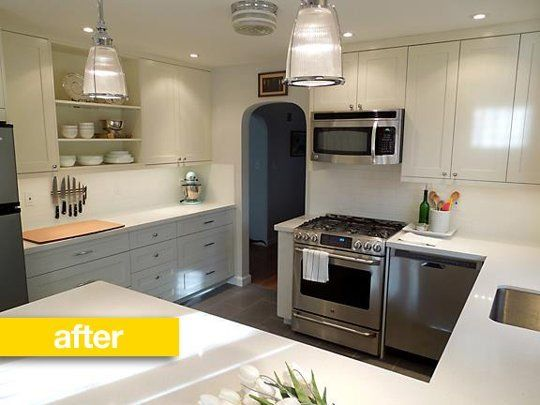 kitchen before after a cookbook author transforms his 1950s