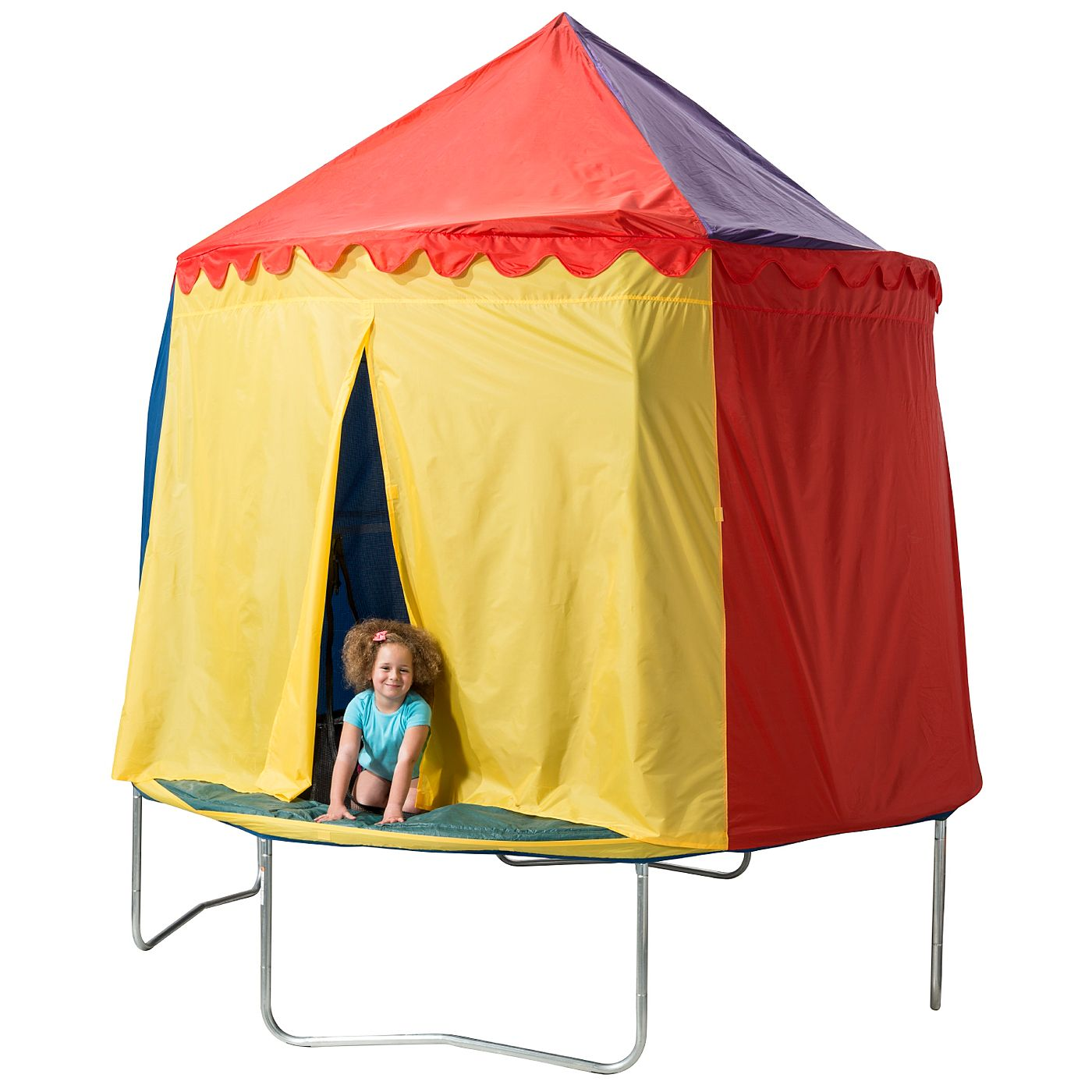 JumpKing Circus Tent Trampoline Cover - 10ft