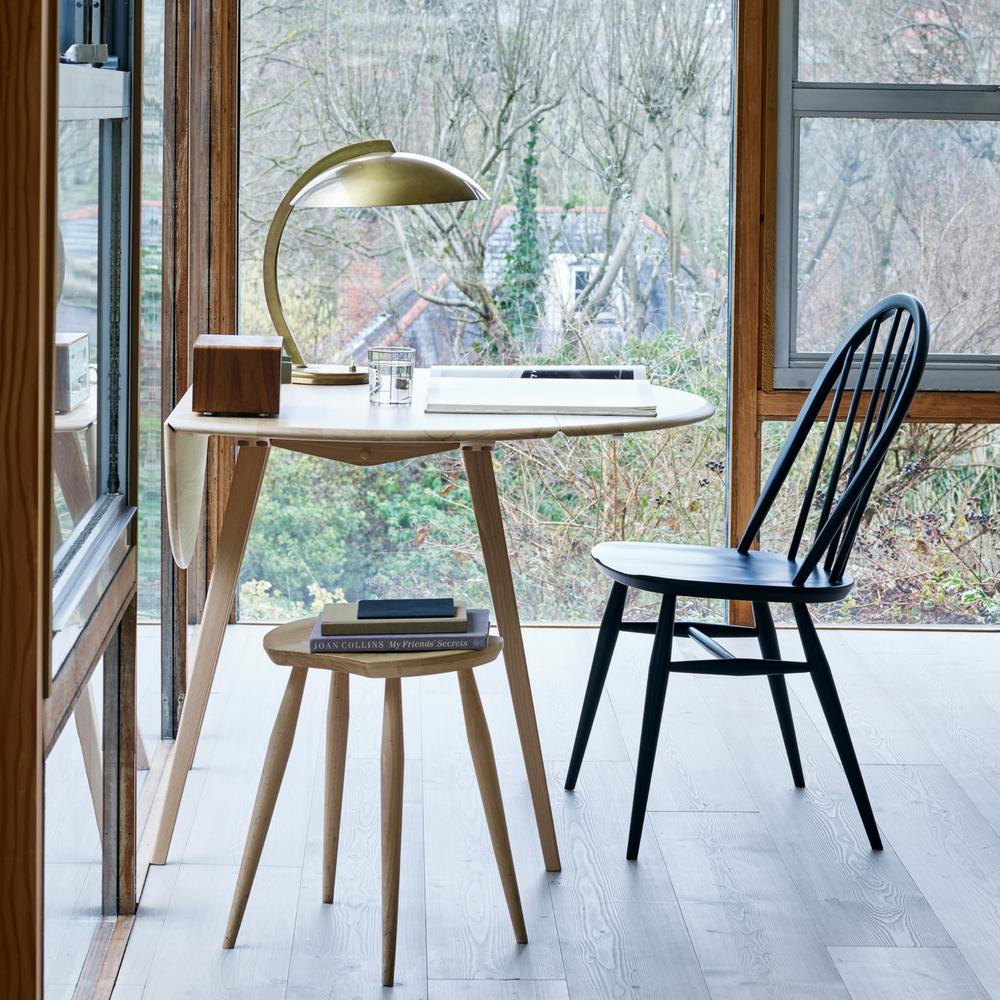 ercol Originals Dropleaf Table Ercol dining chairs