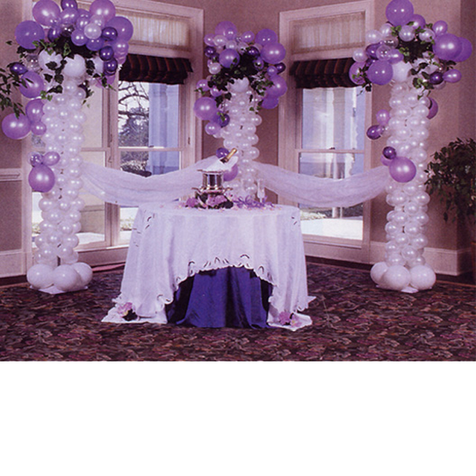 Lavender Birthday Centerpieces :
