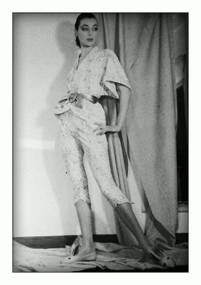 FERDINANDI Haute Couture via Veneto 108, Roma-1950/1960 Model: IVY NICHOLSON