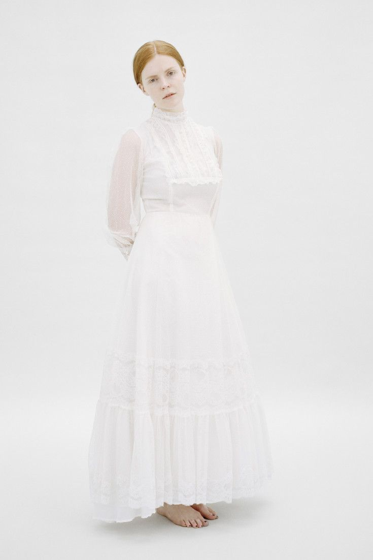 Young girls wedding dresses  A Beautifully Sentimental Photo Project Poses Women In Their Mothers
