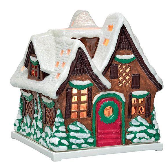 woodland cottage jar holder partylite autumn christmas 2017 pinterest jar. Black Bedroom Furniture Sets. Home Design Ideas