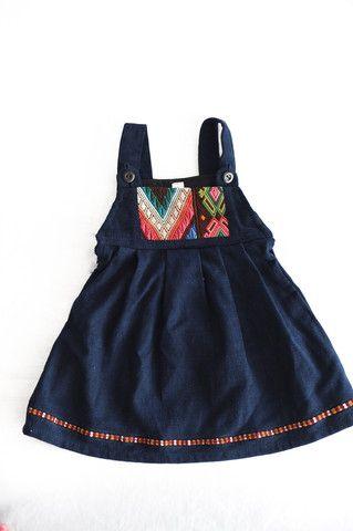 Huipil Baby Dress-Galon | BABY GIRL | Pinterest