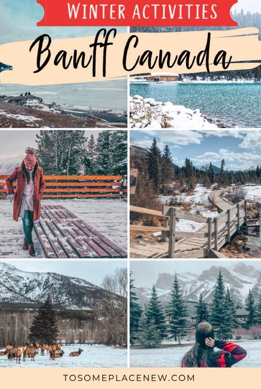 Photo of 21 Epic Things to do in Banff in Winter: Banff Winter Activities – tosomeplacenew