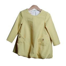 Yellow Winter Dress by Australian Designer Minyaka Design *3yrs*