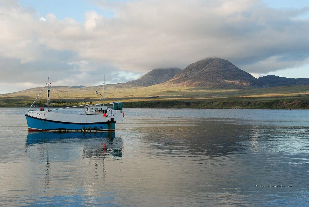 Caol Ila Bay and Paps of Jura