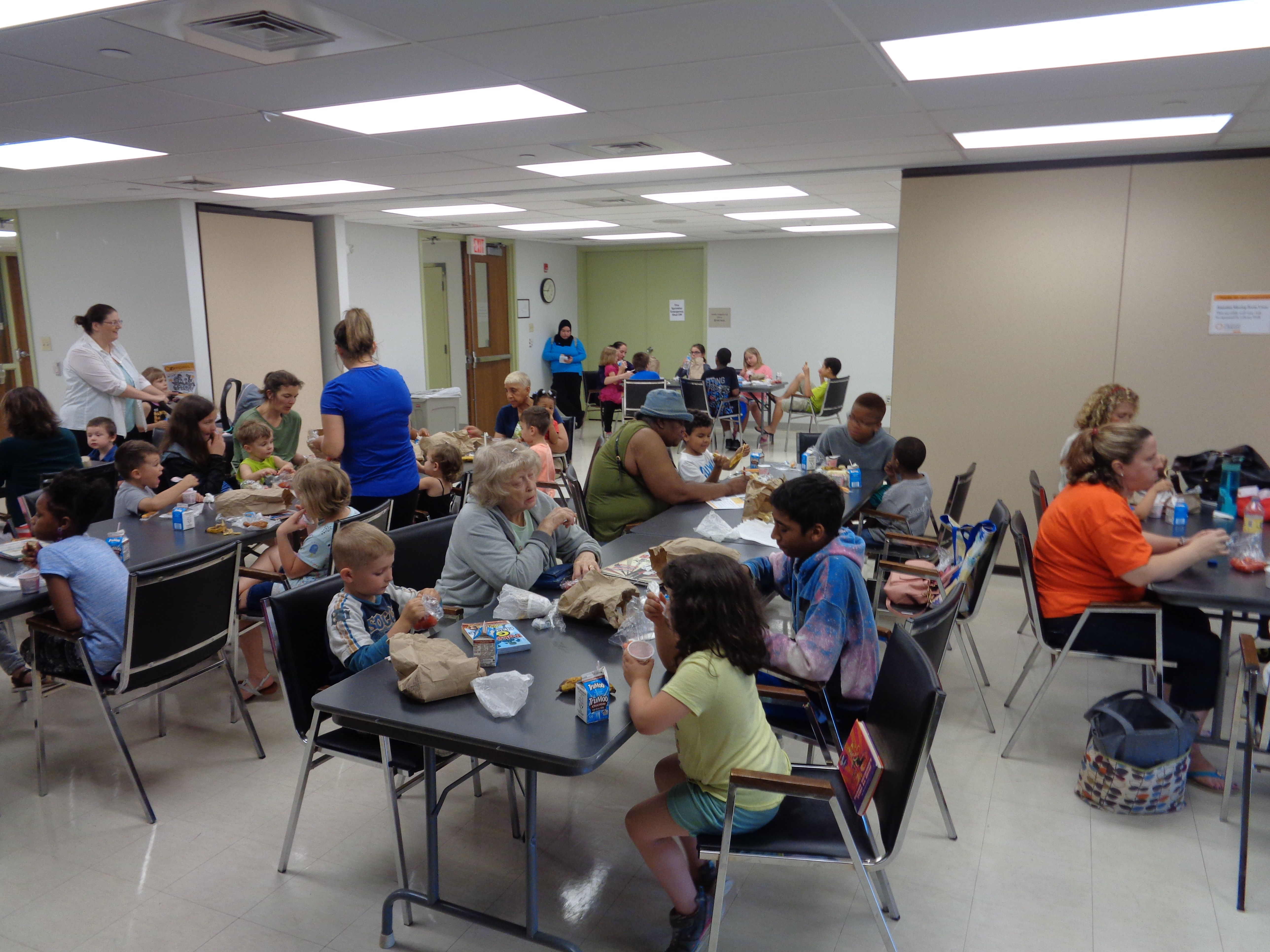 We Had An Amazing Turnout For Our Lunch At Thelibrary Program At The East Shore Area Library Last Wednesday June 13 Technical Schools Library Dauphin County