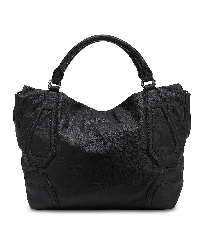 Liebeskind Berlin Vintage Kobe Shoulder Bag Ninja Black