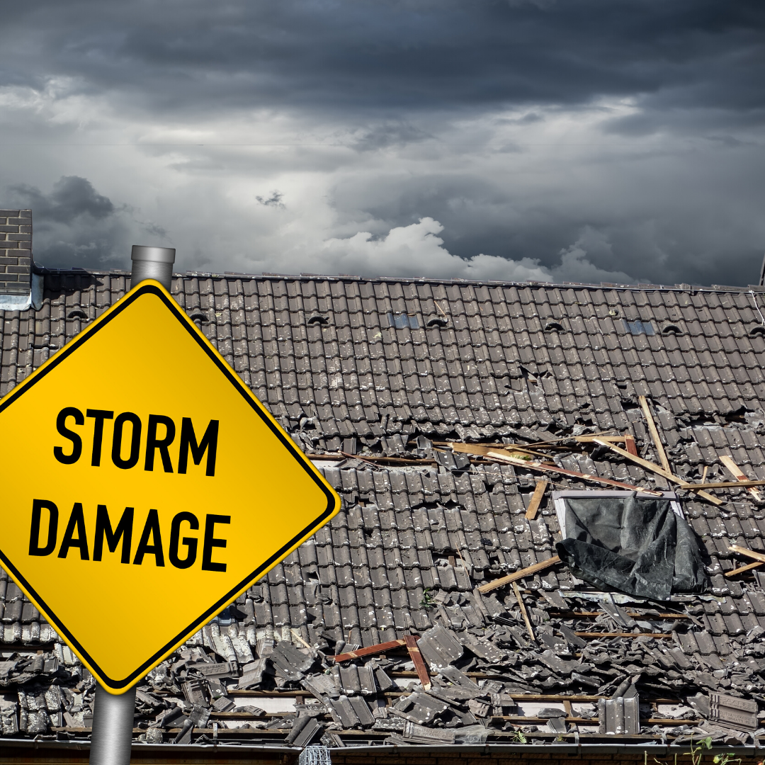Have Storm Damage We Get It Let Us Work With You To Get You A