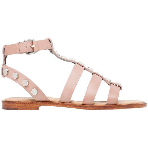 Balenciaga Amp Studs Flat Sandals ($795) </p>                     </div>   <!--bof Product URL --> <!--eof Product URL --> <!--bof Quantity Discounts table --> <!--eof Quantity Discounts table --> </div>                        </dd> <dt class=