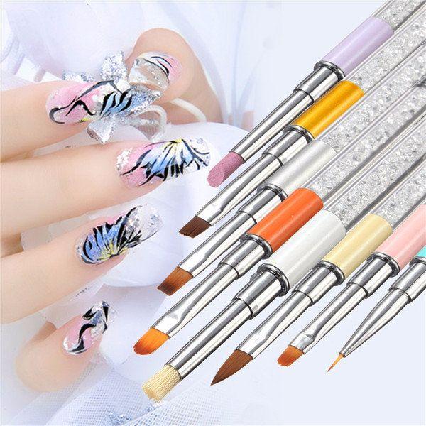 Acrylic Uv Gel Nail Art Painting Drawing Pen Brush Nail Art