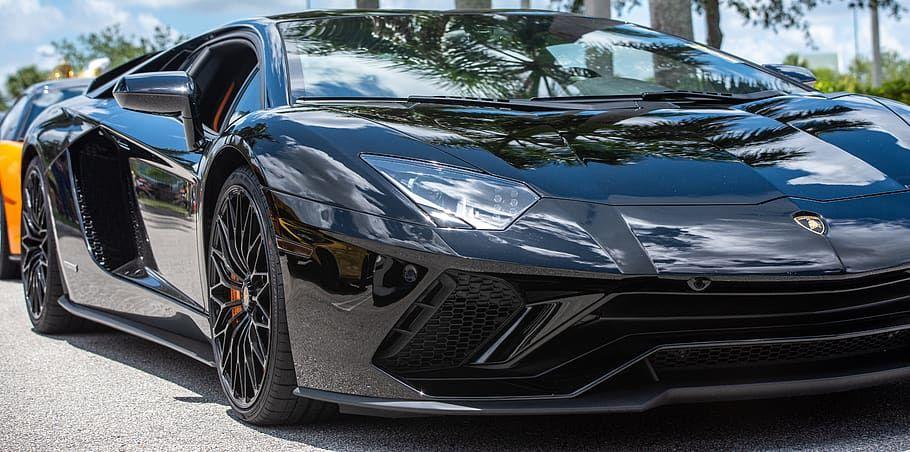 Black in 2020 Sports car, Car