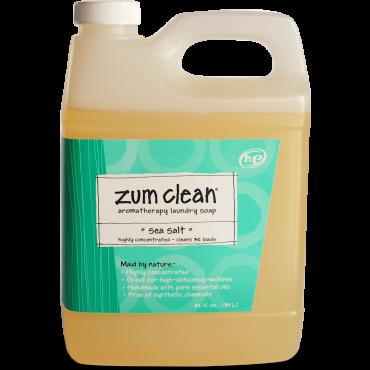 Sea Salt 32 Oz Zum Clean Laundry Soap Laundry Soap Essential