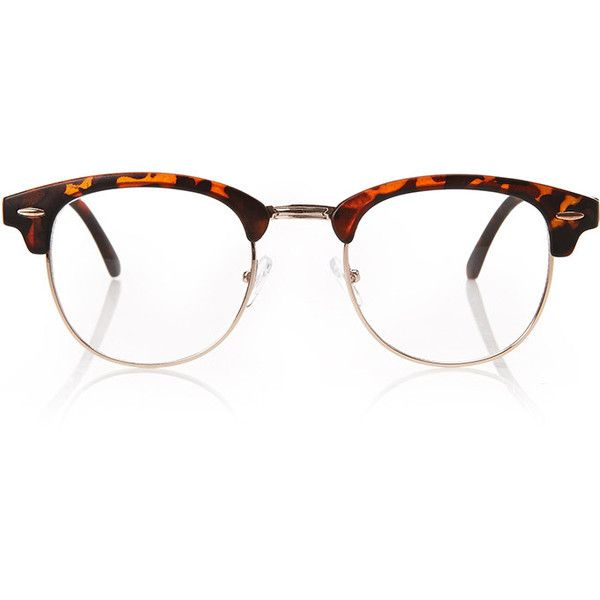 4b5a770ea03 FOREVER 21 Classic Clubmaster Readers (6.95 AUD) ❤ liked on Polyvore  featuring accessories