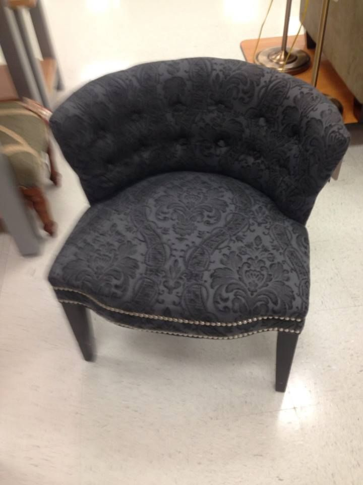 cynthia rowley nailhead accent chair troutman outlet my office pinterest