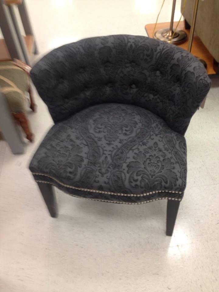 Cynthia Rowley Nailhead Accent Chair & Cynthia Rowley Nailhead Accent Chair | My office | Pinterest ...