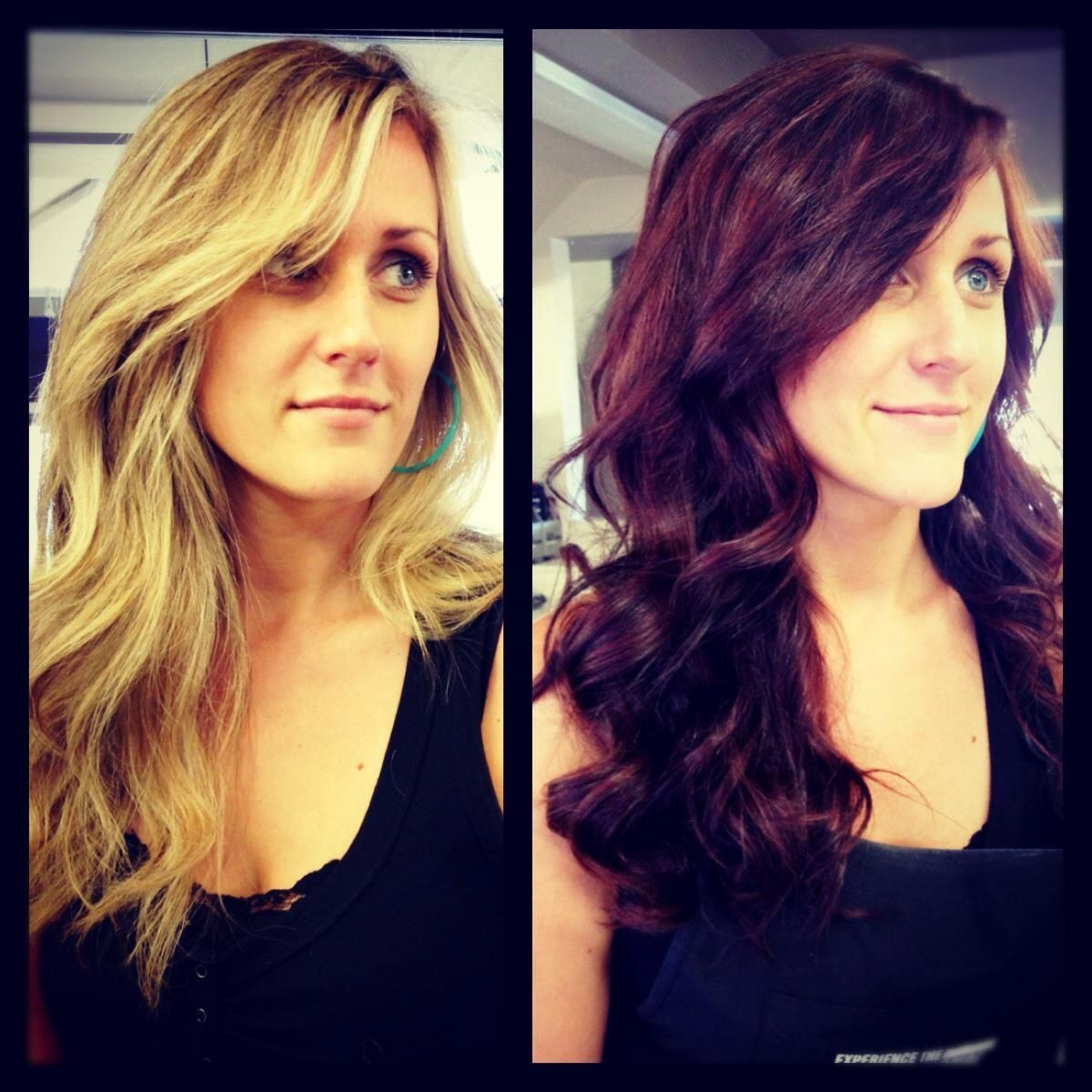 Before and after! @brecynsalon by: Emily