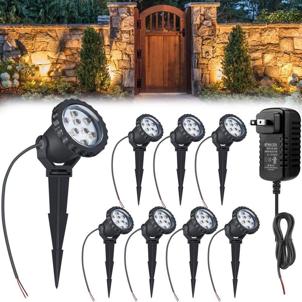 24w Led Landscape Lights With Ul Transformer Low Voltage Landscape Lighting 12v Garden Lights Landscape Lighting Kits Led Landscape Lighting 12v Garden Lights