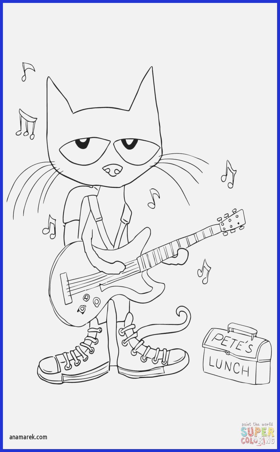 Pete the Cat Coloring Page New 16 Coloring Pages Cats in