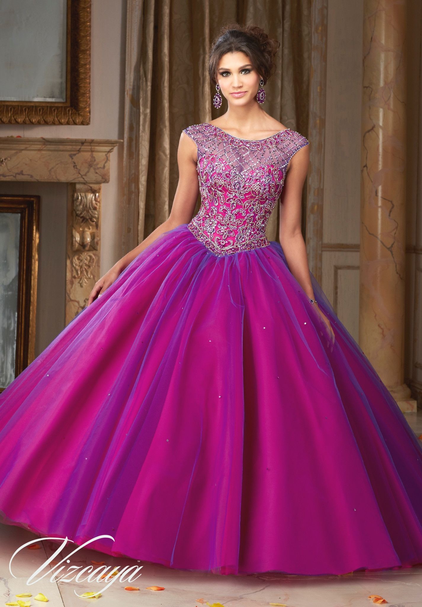 Mori Lee Quinceanera Dress 89104 | 15 años, Vestiditos y Vestido de ...