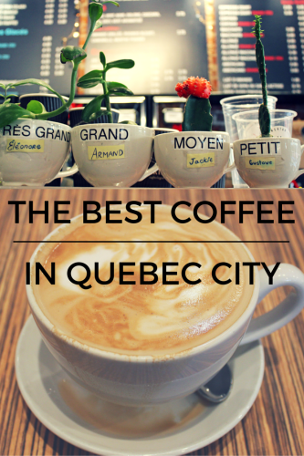 The Best Coffee in Quebec City