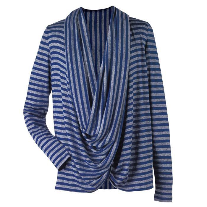 Corbett Lighting Sales Rep: Infinity Wrap Sweater