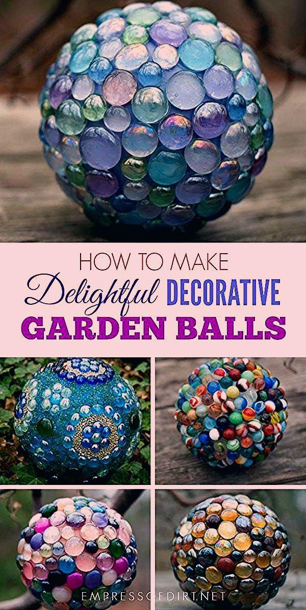 Photo of How to Make Decorative Garden Art Balls (Expert Tips) | Empress of Dirt