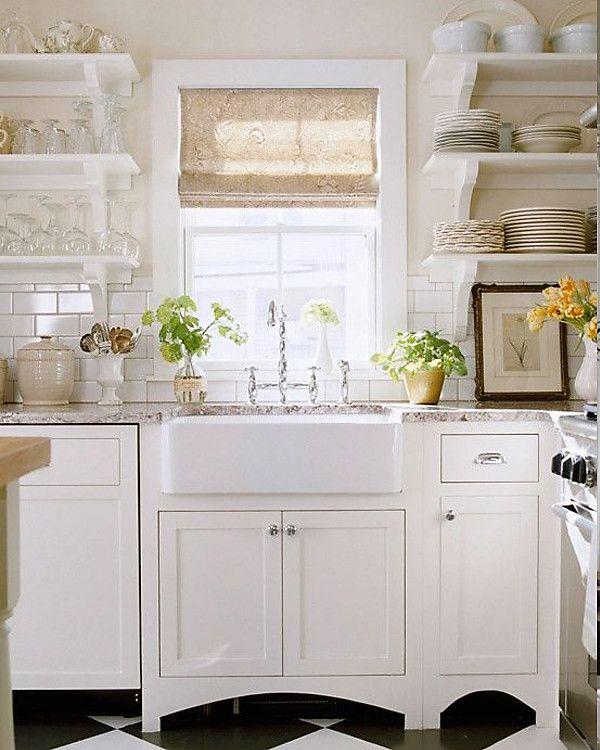 Popular On Pinterest All White Everything Kitchen Inspirations