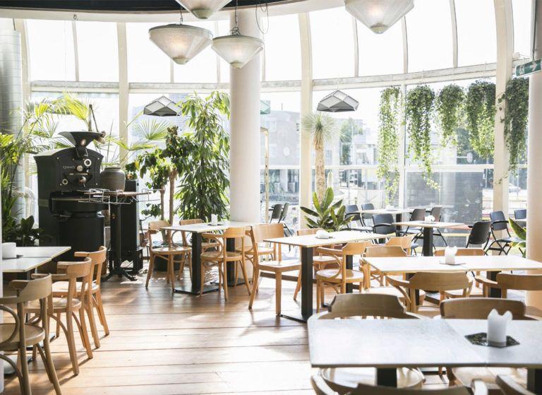 Aloha Rotterdam Bar Restaurant Koffie Terras Stadspark Met