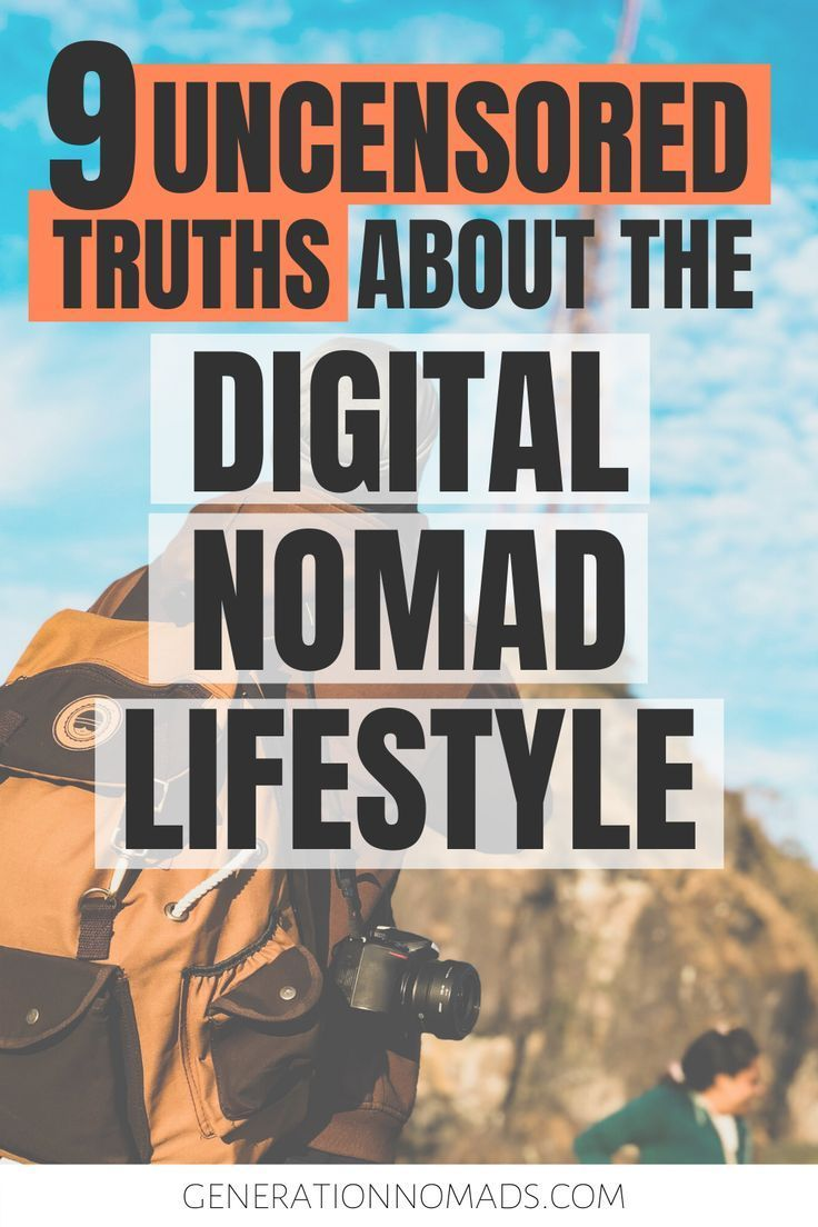 Feb 5, 2020 - Want to become a digital nomad? It's not all ...