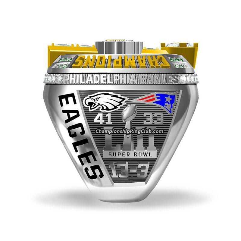 2017 Philadelphia Eagles Super Bowl Championship Ring