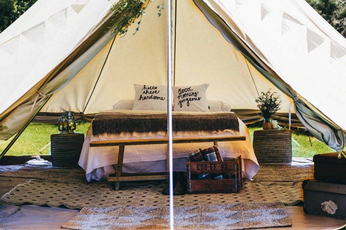 How to Make a Luxury Tent for the Best Camping Magic ...