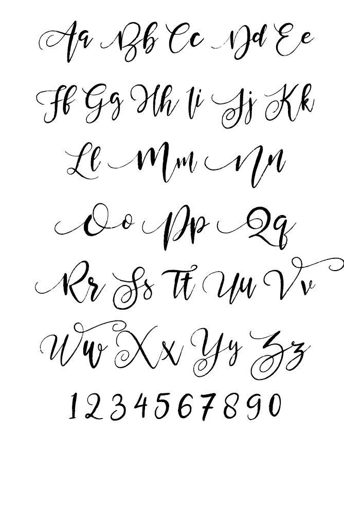 14 Best Handlettering Alphabets images in 2019 | Writing fonts, calligraphy letters, hand lettering