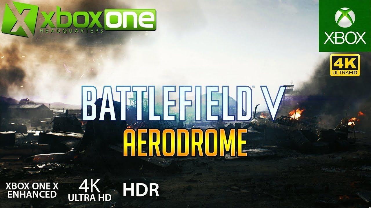 Xboxone Battlefield 5 Bf5 Xbox One X Gameplay Aerodrome