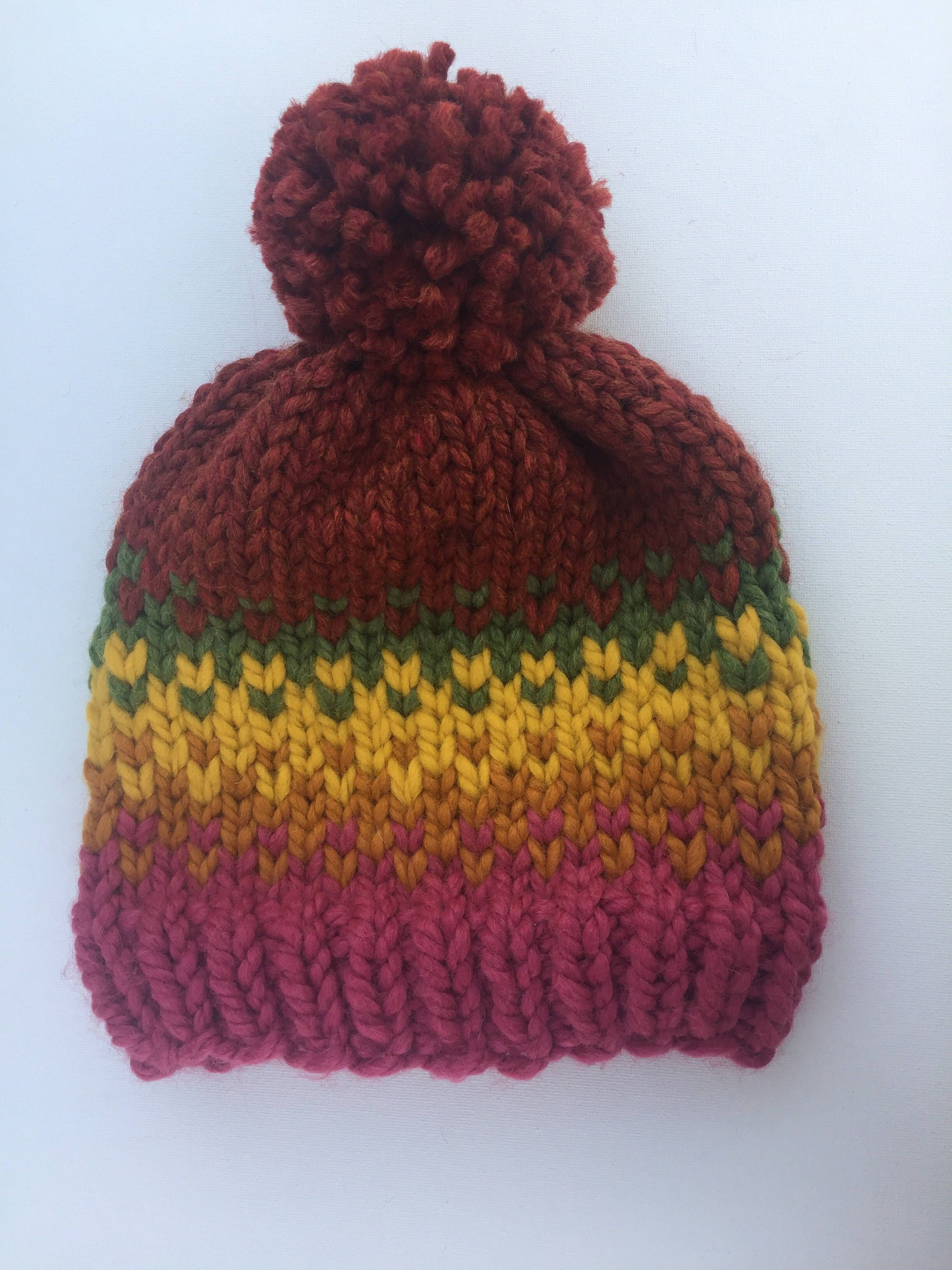 b0fb41ab372 Fall knit Hat