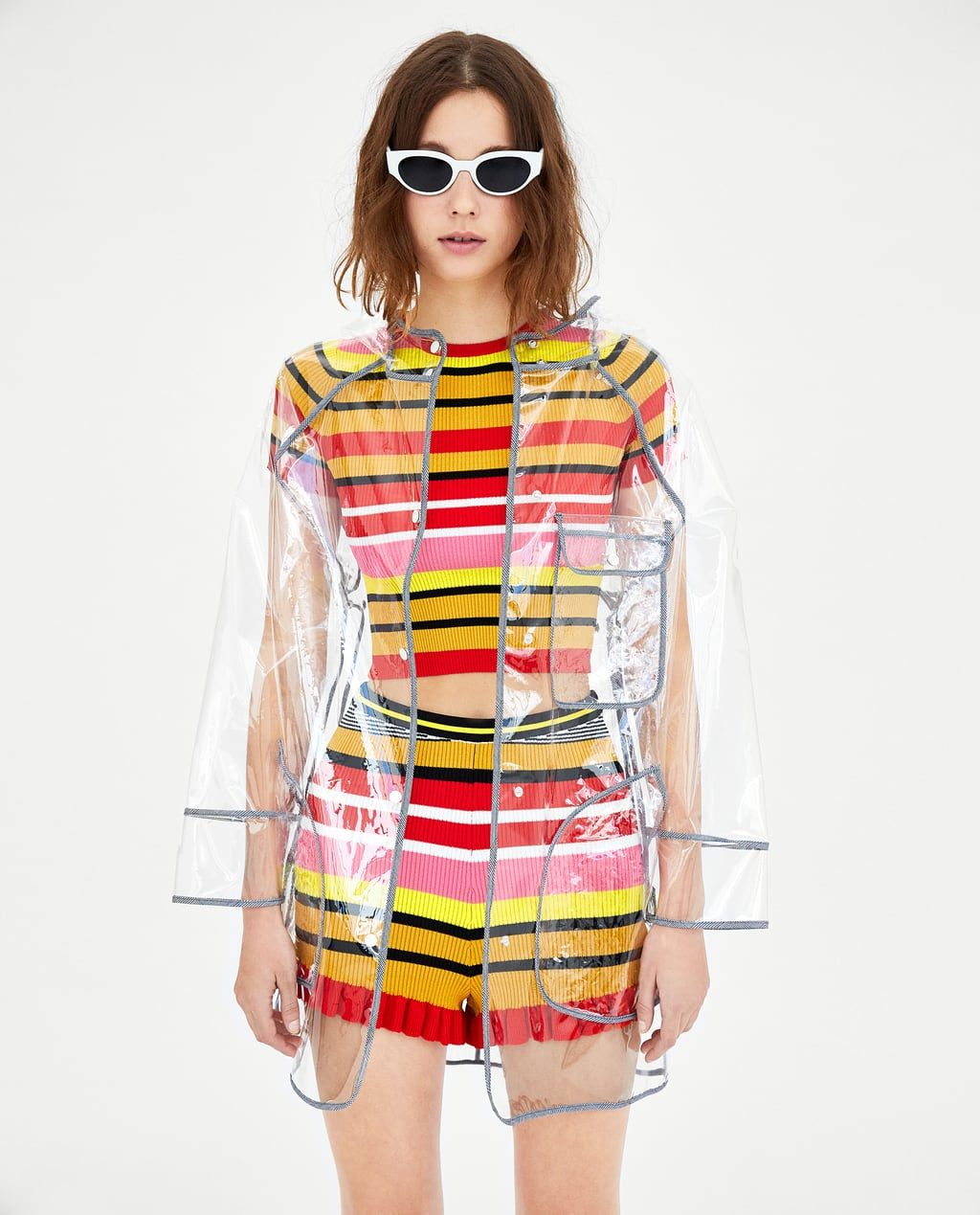 Of Repellent Zara Image 4 Water Raincoat From In Transparent dCshrQt