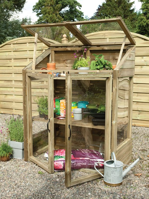 Mini Wooden Greenhouse Perfect For A Small Garden Mini Greenhouse Diy Mini Greenhouse Diy Greenhouse