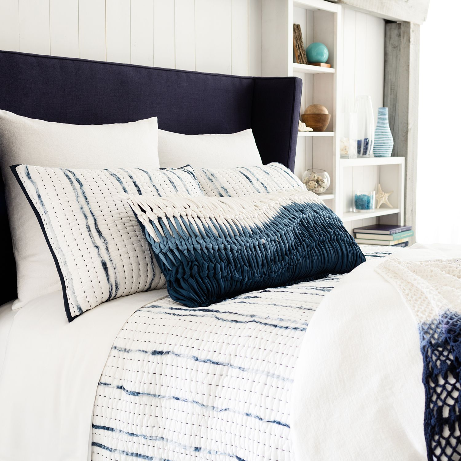 Pine Cone Hill Draftsman Quilt Bed, Bedroom inspirations