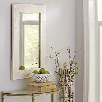 Ivory Mother Of Pearl Mirror 23 50 W X 1 25 D X 35 50 H 30 W X 1 50 D X 40 H Sale 135 20 183 20 Reg Mother Of Pearl Mirror Mirror Living Room Renovation