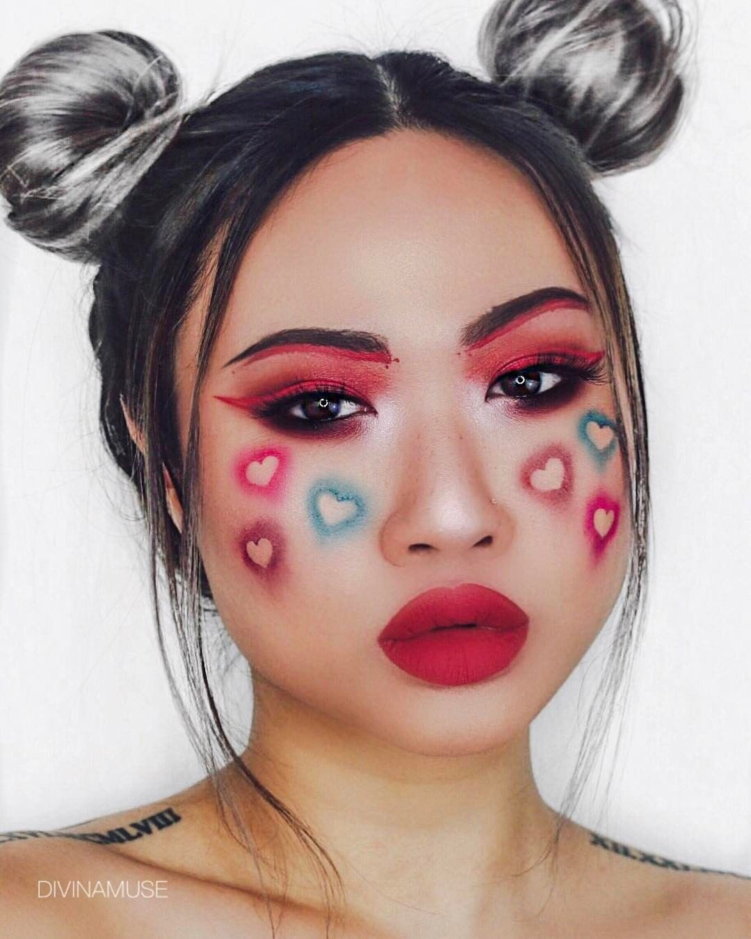 Amour Instagram Divinamuse Crazy Makeup Valentines Makeup