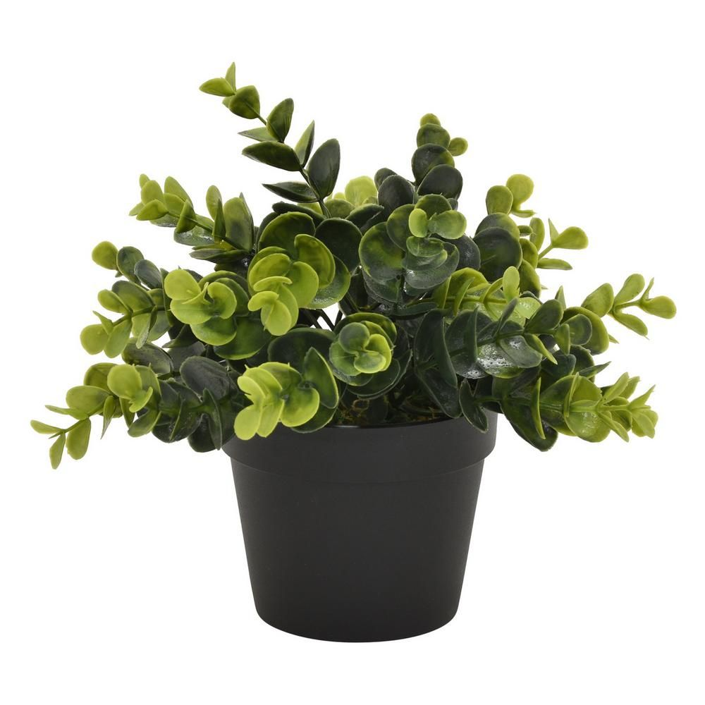 Three Hands 8 In Plastic Flower Pot Artificial Greenery In Green Products In 2019 Plastic Flower Pots Plants Foliage Plants