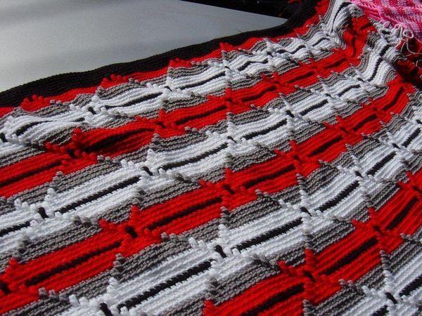 Free Pdf Pattern Navajo Indian Diamond Afghan Yarn Work Afghan