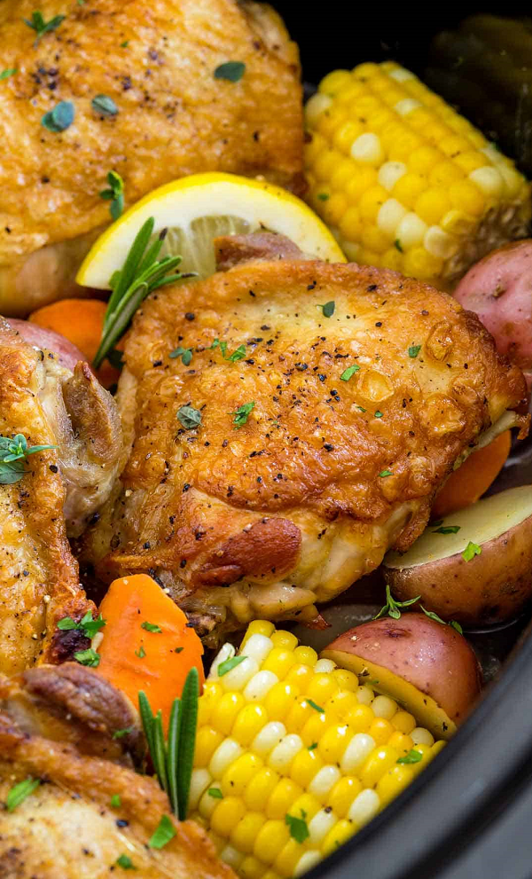 Easy Slow Cooker Chicken Thigh Recipes
