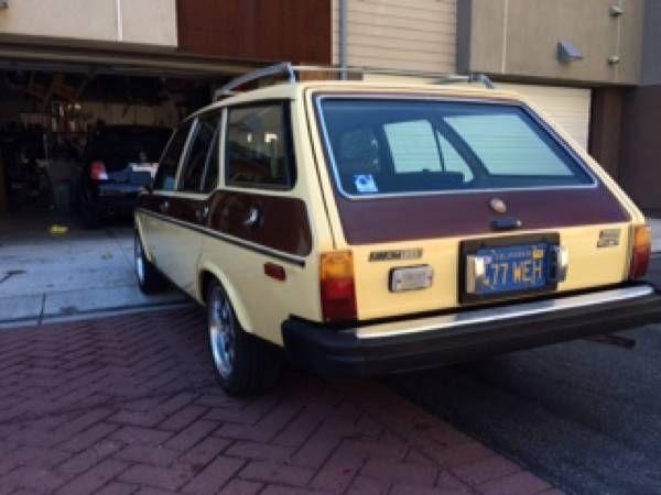 Rare Familiare Largely Original 1978 Fiat 131 Wagon Fiat Wagon