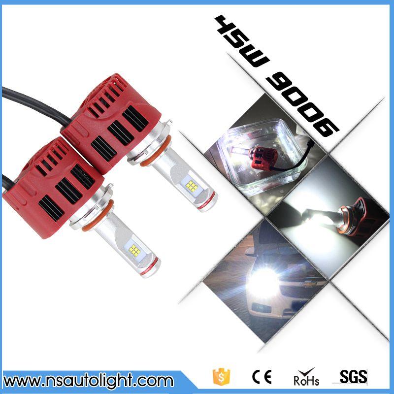 Super Bright 9006 HB4 ZES Led Car Headlight Conversion Kit