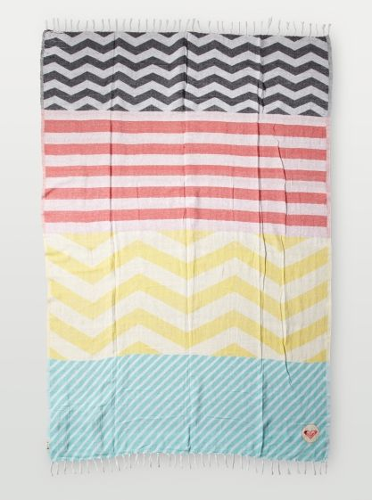Bonfire Beach Blanket Roxy Colorsofsummer Stripes Are My